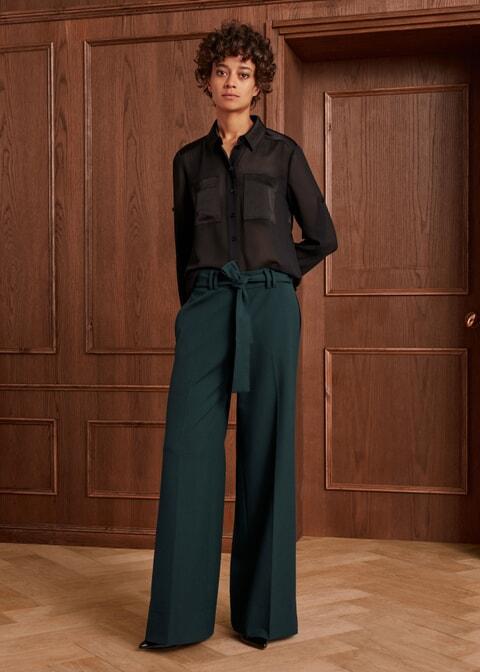 Emerald Wide Leg Trouser